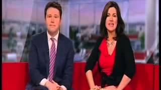 getlinkyoutube.com-Susanna Reid THIGHS STOCKING TOPS CLEAVAGE VPL