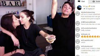 getlinkyoutube.com-Ally Hills & Danny Padilla YouNow 4/21/16 ( Stevie Boebi )