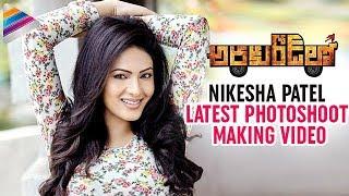 getlinkyoutube.com-Nikesha Patel Latest Photoshoot Making Video   Araku Road Lo Telugu Movie   Sairam Shankar