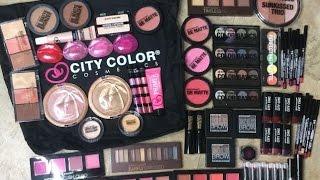 getlinkyoutube.com-Huge City Color Cosmetics Haul