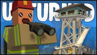 getlinkyoutube.com-FIREWATCH TOWER BASE! (Unturned Building)