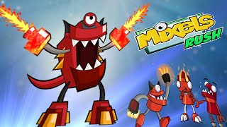 getlinkyoutube.com-Mixels Rush: Final Boss Level  infernite Land - Cartoon Network Games