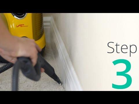 Como Eliminar Los Chinches, Paso 3 / 4: Vapor y Limpiar la Habitacíon