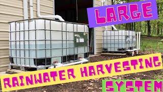 getlinkyoutube.com-Large Rainwater Harvesting System