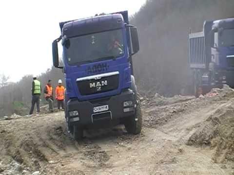 Man TGS 33.360 6x4 dumper truck