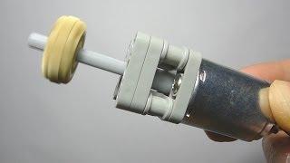 getlinkyoutube.com-LEGO Motor DIY Part 1: Make a Technic Cross Axle Coupler and Bracket