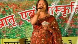 getlinkyoutube.com-Meena rana in holi purv sandhya ,mayur vihar 3 ,geet sangeet-narendra singh negi