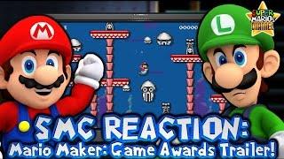 getlinkyoutube.com-SMC: Mario & Luigi React to Mario Maker 'Game Awards' Trailer!