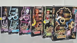 getlinkyoutube.com-Ghouls Alive Complete Collection for Wave 1 & 2 - Monster High