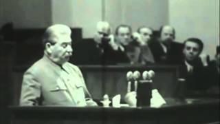 getlinkyoutube.com-Stalin's Final Speech 1952 [Subtitled]