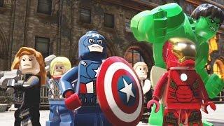 getlinkyoutube.com-LEGO Marvel's Avengers Full Movie