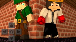 Minecraft PE 0.13.0 -AVENTURA MULTIPLAYER#3 c/ROBINHOOD ( Pocket Edition )