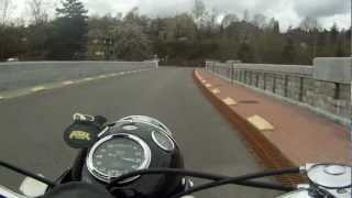 getlinkyoutube.com-Norton Dominator Twin 600 1959 2e run