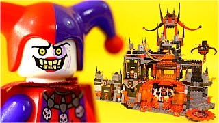 getlinkyoutube.com-LEGO NEXO Knights 70323 Jestro's Volcano Lair