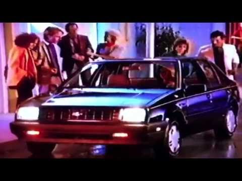 1986 Chevrolet Spectrum Commercial