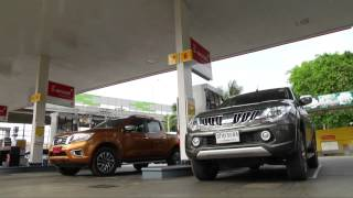 getlinkyoutube.com-Test Triton vs Navara NP300 by AUTO BILD Thailand.