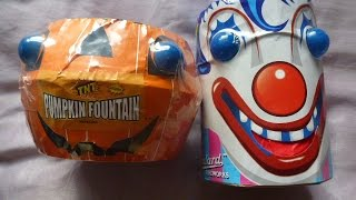 getlinkyoutube.com-Asda pumpkin fountain v tesco clown fountain fireworks
