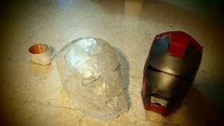 getlinkyoutube.com-#6: Iron Man Helmet: transparent - Helmet (experiment without template)
