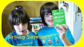 Twins Get Wonderful Birthday Surprises !!