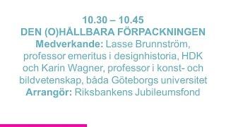 Forskartorget 2015 - DEN (O)HÅLLBARA FÖRPACKNINGEN