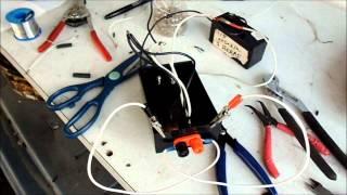 getlinkyoutube.com-costrullendo un chequiador casero para transistores con alimentacion de 12 v DC