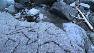 getlinkyoutube.com-奇妙なもの探索シリーズ 山梨県南部町上佐野 変な彫刻の石