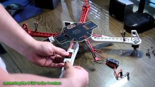 getlinkyoutube.com-DJI F450 Quadcopter Assembly