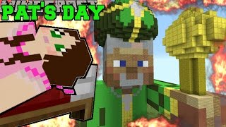 Minecraft: BURNING ST. PATRICK'S DAY (NOBODY SURVIVES MY HOLIDAY!) Mini-Game