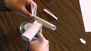 getlinkyoutube.com-Paper Rubber Band Gun