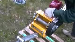 getlinkyoutube.com-DVA snc Verricello VA1530GF con motore per decespugliatore
