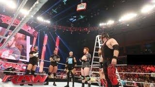 getlinkyoutube.com-The Money in the Bank All-Stars brawl at the start of Raw: Raw, July 1, 2013