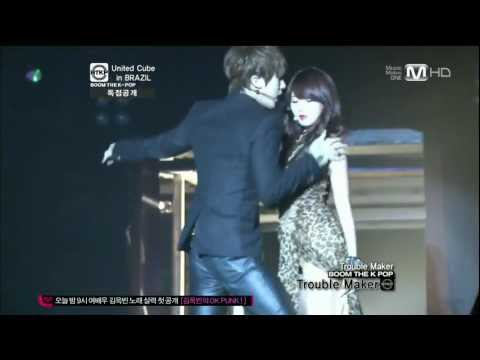 20120105 Trouble Maker - Trouble Maker @United Cube in BRAZIL