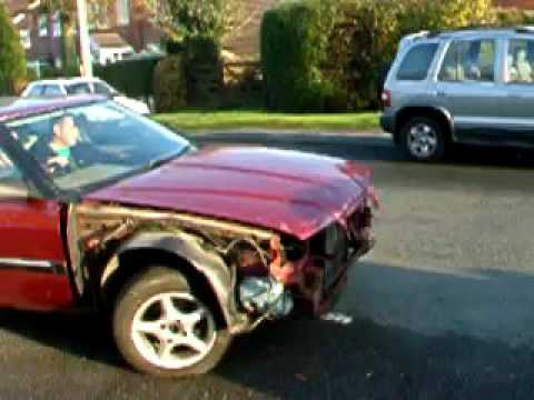 Rover 825 Diesel damaged Copy
