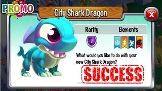 getlinkyoutube.com-Dragon City - City Shark Dragon [Exclusive VIP | Awesome Dragon 2016]