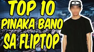 Fliptop Top 10 Most Bano Emcees of 2017