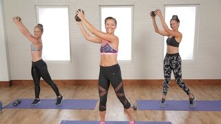 getlinkyoutube.com-20-Minute Flat Belly and Toned Arms Workout