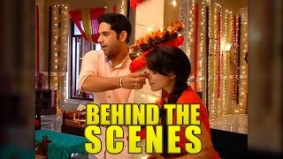 Behind the scenes fun with Dhruv and Thapki aka Ankit and Jigyasa of Thapki Pyar Ki