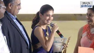 13th CIFF Awards For Nayanthara & Aravindswamy