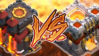 getlinkyoutube.com-CENTRO DE VILA 11 vs CENTRO DE VILA 10 - CLASH OF CLANS