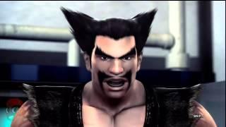 getlinkyoutube.com-Tekken Tag Tournament 2 - Jinpachi, Heihachi, & kuma Ending Movies