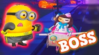 getlinkyoutube.com-Despicable Me 2017 Minion Rush gameplay For Children with Boxer Minion and Evil Minion 😡