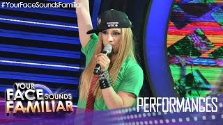 "getlinkyoutube.com-Your Face Sounds Familiar: Kean Cipriano as Avril Lavigne - ""Sk8ter Boi"""