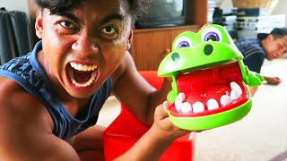 getlinkyoutube.com-CROCODILE DENTIST CHALLENGE
