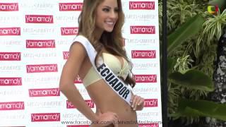 Miss Universo 2014/2015 - Desfile en traje de baño YAMAMAY