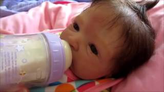 getlinkyoutube.com-TBT: Day in the life of reborn baby Caylee