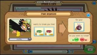 getlinkyoutube.com-Trading Attempts For Magenta Eyeball Hat ~Animal Jam