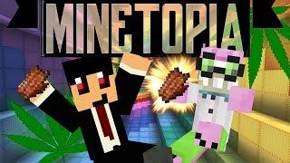 getlinkyoutube.com-MINETOPIA #30 - YOUTUBERS aan ILLEGALE DRUGS!! - Minecraft Reallife Server