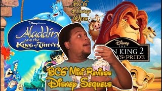 getlinkyoutube.com-BCG Mini-Reviews Part 2: Aladdin and the King of Thieves & The Lion King II: Simba's Pride
