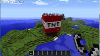 getlinkyoutube.com-Minecraft biggest TNT explosion ever