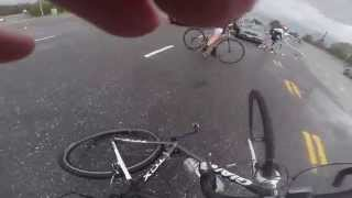 getlinkyoutube.com-Cyclist hit by Distracted Driver during Distracted Driving Ride